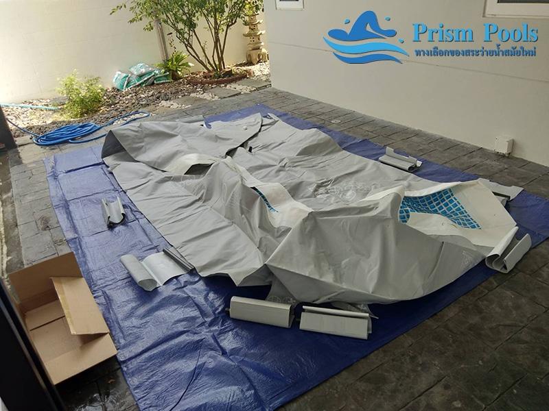สระว่ายน้ำ intex prism pool บริการติดตั้ง 4