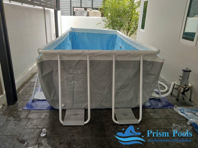 สระว่ายน้ำ intex prism pool บริการติดตั้ง 5