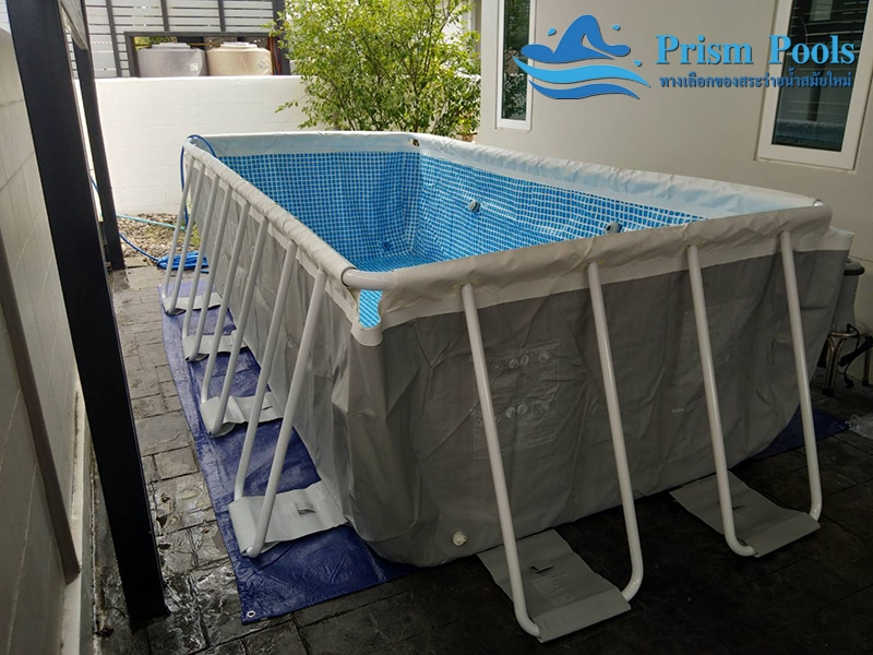 สระว่ายน้ำ intex prism pool บริการติดตั้ง 6