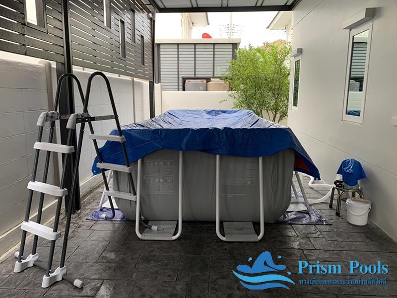 สระว่ายน้ำ intex prism pool บริการติดตั้ง 7